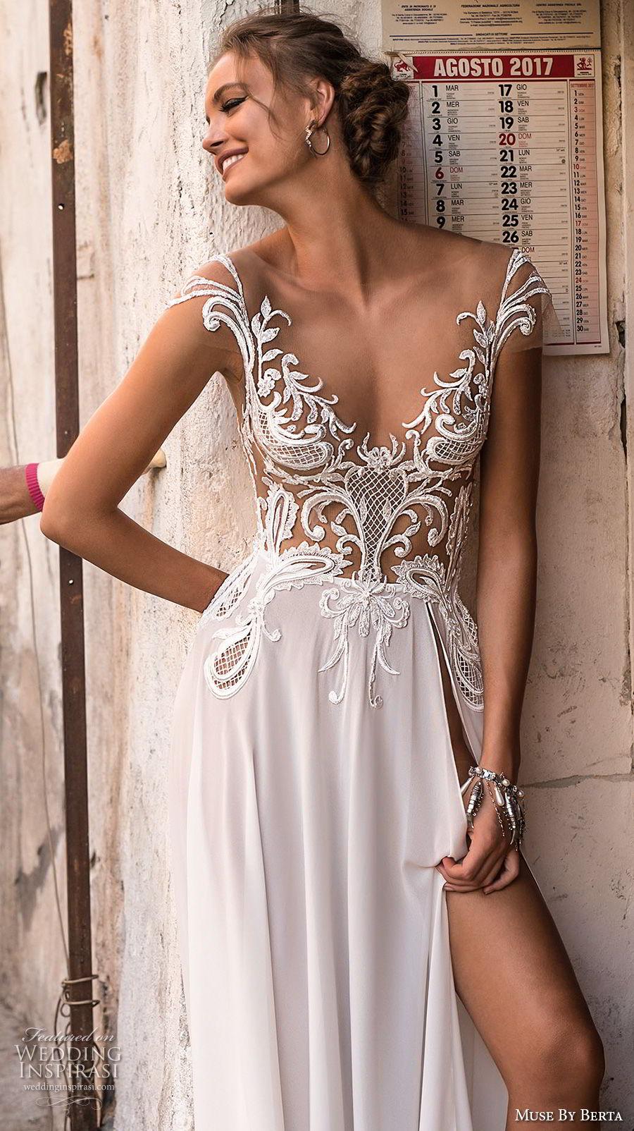 muse-berta-2018-bridal-cap-sleeves-v-neckline-heavily-embellished-bodice-high-slit-skirt-sexy-romantic-soft-a-line-wedding-dress-open-v-back-sweep-train-3-zv