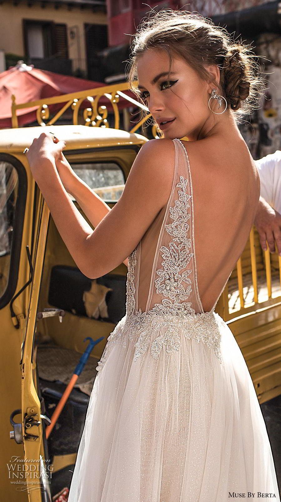 muse-berta-2018-bridal-sleeveless-deep-plunging-v-neck-heavily-embellished-bodice-high-slit-tulle-skirt-sexy-romantic-soft-a-line-wedding-dress-open-v-back-sweep-tra (4)